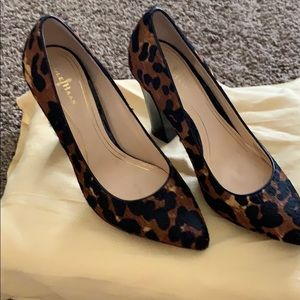 Cole Haan Leopard Fur Pumps